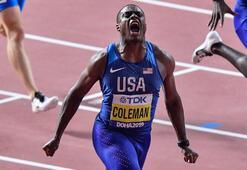 Bolt'un tek vârisiChristian Coleman
