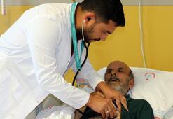 Kalbi duran hasta, 1 saat sonra hayata döndü