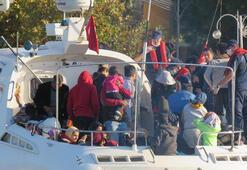 Çanakkalede 206 düzensiz göçmen yakalandı