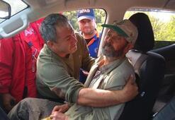 Ormanda kaybolan Mustafa dede konuştu: Meyve yiyip, dere suyu içtim