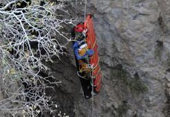 Yarasa gübresi için 40 metrelikobruğa indi Sonrası korkunç...