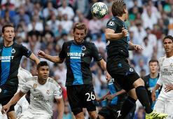 Real Madrid - Club Brugge: 2-2