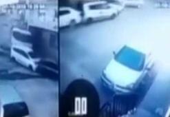 İzmir'de dehşet anları: 9 aracı önüne kattı