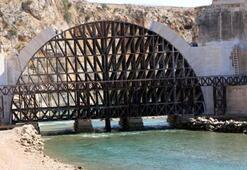 200 yıl önce kavga eden köylülerin yıktığı köprüde restorasyon