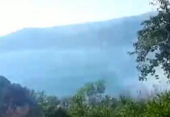 Beykozda orman yangını İtfaiye ekipleri bölgeye sevk edildi