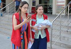 Çöpte bulunan bebek Çocuk Evleri Sitesi Müdürlüğüne gönderildi