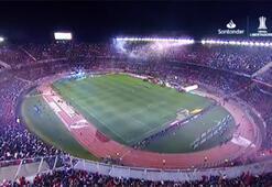River Plate-Boja Juniors maçında unutulmaz atmosfer
