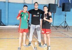 Bostanlıspor kick boksta da şampiyon