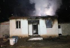 Erzincanda yangın Ekipler oraya koştu