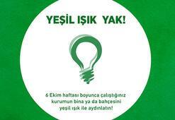 17 milyon cerebral palsylli için yeşil giy, yeşil ışık yak, farkındalık yarat