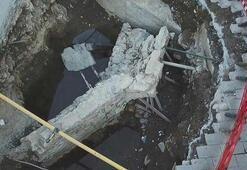 İstanbulda asfaltın altından tarih fışkırdı