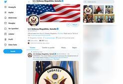 ABD 28 yıl sonra Somali büyükelçiliğini yeniden açtı