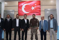 Ağaoğlundan Trabzon Emniyet Müdürü Alpere ziyaret