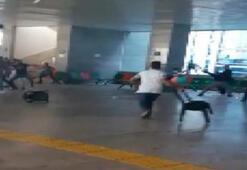 Adliyeyi karıştıran kavga Sandalyeler havada uçtu