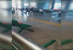 Anadolu Adalet Sarayında duruşma sonrası kavga.