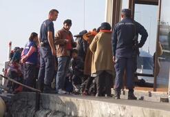 Kuzey Egede operasyonda operasyonlar: 215 düzensiz göçmen yakalandı