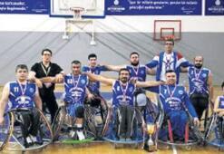 Engelli basketçilere büyük ayıp