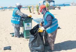 2 bin 500 ton çöp toplandı