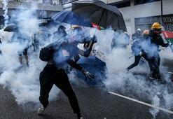 Son dakika... Hong Kongda göstericilere maske takması yasağı