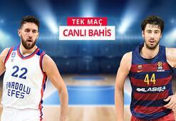 Anadolu Efes - Barcelona maçı heyecanı Misli.comda