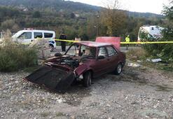 Otomobil takla attı: 1 kişi ölü, 1 yaralı