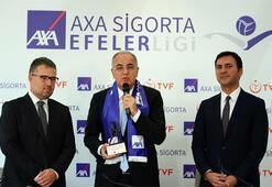 AXA Sigorta, Efeler Ligi'nin isim sponsoru oldu