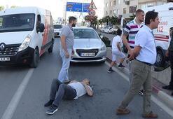 İnegöl'de kaza: 1 yaralı