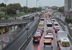 İstanbul trafikte son durum: Yüzde 70lere dayandı