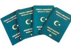 Yeşil pasaportta 2 milyon olan kotanın 1 milyon 700 bini dolu
