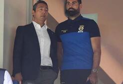 Fenerbahçede Volkan Demirel ve Ali Koçun görüntüsü dikkat çekti