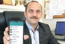 Muhtar, sorunları WhatsApp'la çözecek