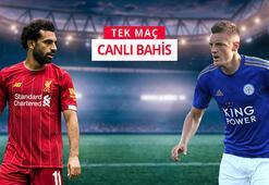 Liverpool - Leicester City maçı canlı bahisle Misli.comda