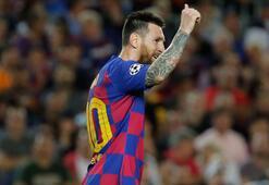 Barcelona paylaştı Messi tam 90a...