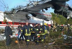 Ukraynada düşen kargo uçağında pilot hatası ihtimali