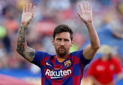 Lionel Messinin yeteneği sirklere ilham verdi.