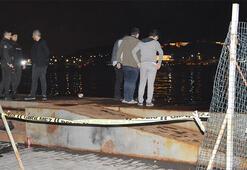 İstanbulda dehşet anları Arkadaşının boğazını kesti