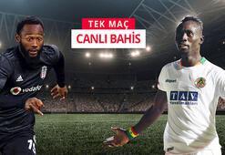 Kartal zorlu virajda Beşiktaş - Alanyaspor maçı canlı bahisle Misli.comda...