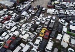 Binlerce araç terk edildi Ortaya bu görüntüler çıktı