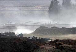 Sınırda namlular Suriye'ye çevrildi