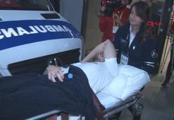 Dorukhan Toköz stadı ambulansla terketti