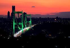 İstanbul yeşile büründü İşte sebebi...