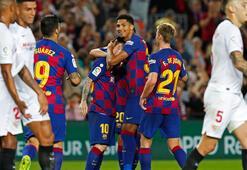 Barcelona, Sevillayı farklı yendi