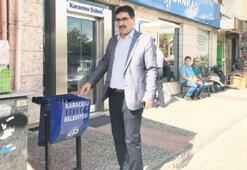 Karacasu'da çöp konteynerleri artıyor