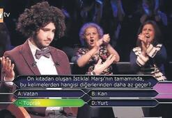 Kim Milyoner Olmak İsterde 1 milyon kazanan Arda Aytenin ilk sözleri