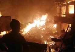 9 ev alev alev yandı