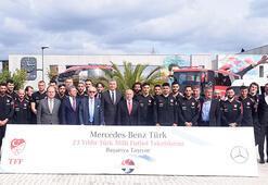 TFF, ana sponsoru Mercedes Benz ile sözleşme uzattı