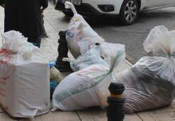 İstanbul'a 'çuval çuval' getirdiler...Esenler Otogarı'nda 'kışlık erzak' trafiği başladı