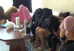 7 kadına zorla fuhuş yaptıranlar yakalandı