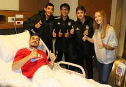 Beşiktaş Futbol Akademiden Dorukhan Toköze ziyaret