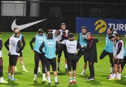 A Milli Futbol Takımı, Arnavutluk maçı hazırlıklarını sürdürdü